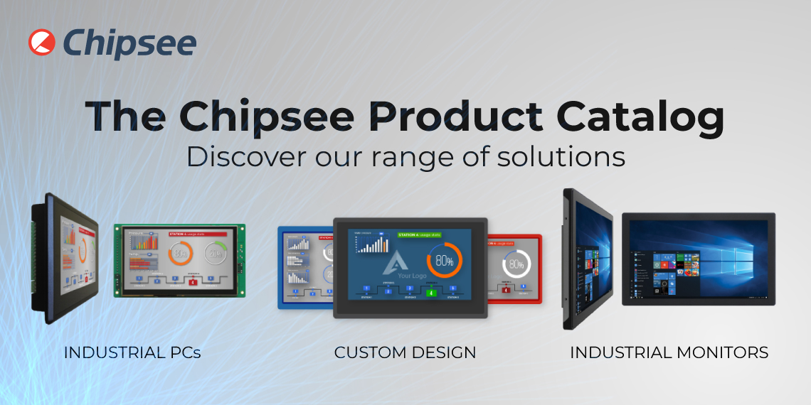 The Chipsee Product Catalog post banner
