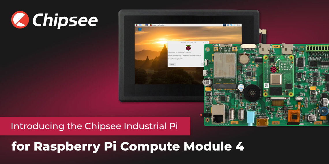 Industrial Pi Compute Module 4 Chipsee